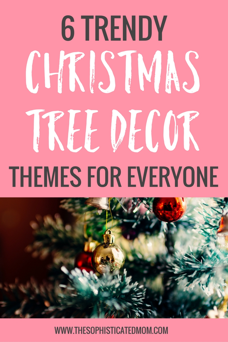There are so many options when it comes to Christmas tree decor themes. Do you want real or fake? Do you want colored lights or plain?
