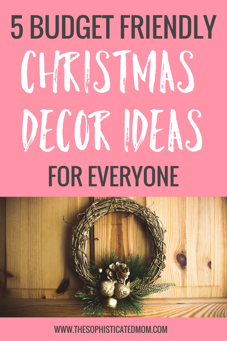 If you get creative, you can find lots of ideas for budget friendly Christmas decor. These DIY projects will make your home a cozy holiday space.