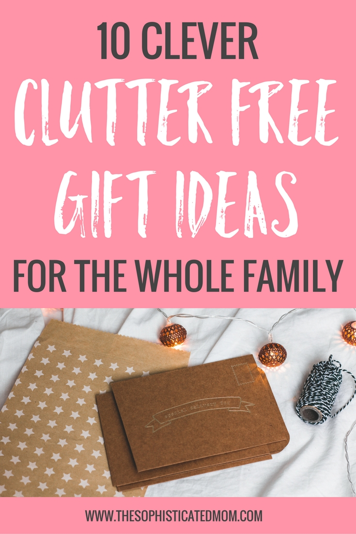 You can make Christmas a big celebration without toys. If you want to expand your idea of gift-giving, check out these clutter free gift ideas.