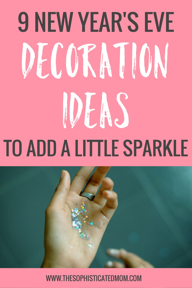 If you're looking to add a little sparkle, here are some simple but splashyNew Year's Eve decoration ideas to help you ring in the new year in style.
